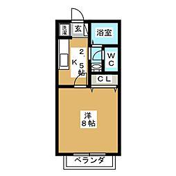 サン・friends 赤塚[1階]の間取り