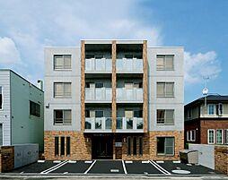 北海道札幌市北区麻生町4の賃貸マンションの外観