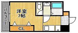 サンマリノビル[8階]の間取り