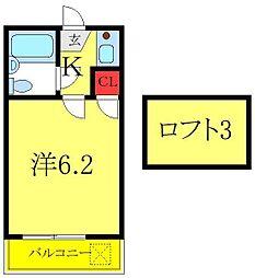 東武東上線 ときわ台駅 徒歩11分の賃貸アパート