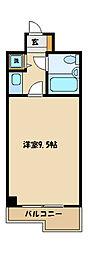 東京都町田市旭町1丁目の賃貸マンションの間取り