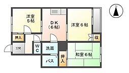 メゾン伊藤[1階]の間取り
