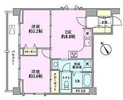 つるまきハウス(フルリノベーション)[501号室号室]の間取り