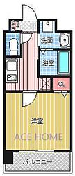 Luxe新大阪III[321号室号室]の間取り
