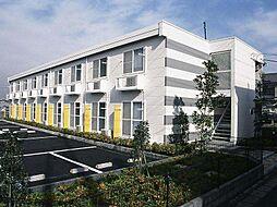 埼玉県八潮市中馬場の賃貸アパートの外観