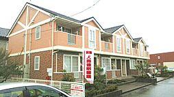 新潟県新潟市江南区うぐいす1丁目の賃貸アパートの外観