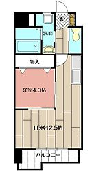 グランエスパシオ浅野[2階]の間取り