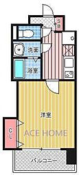 Luxe新大阪III[808号室号室]の間取り