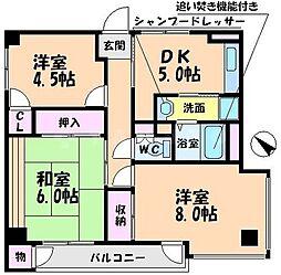 千里ニチゴマンション[4階]の間取り