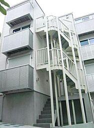 東京都新宿区四谷4丁目の賃貸アパートの外観