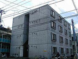 北海道札幌市南区川沿六条3丁目の賃貸マンションの外観