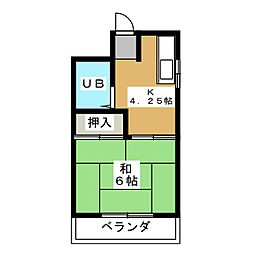 ソフィアマンション[5階]の間取り