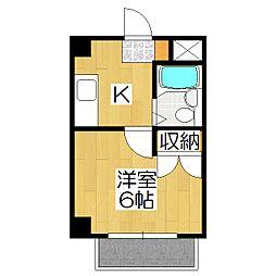 ハウス2[302号室]の間取り