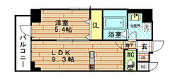 (仮称)福島7丁目PROJECT[6階]の間取り