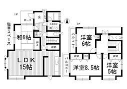 [一戸建] 東京都杉並区南荻窪2丁目 の賃貸【/】の間取り