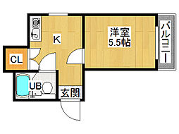 ドリーム21[3階]の間取り