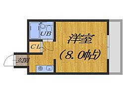 eight court 宿院[5階]の間取り