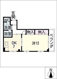 オリエントI[3階]の間取り