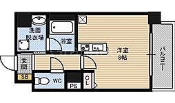デイグラン鶴見[5階]の間取り