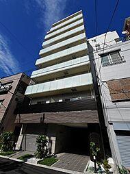 東京都中央区月島1丁目の賃貸マンションの外観