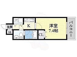 長堀橋駅 6.7万円