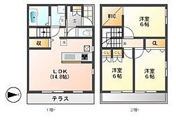 Maison Vert[2階]の間取り
