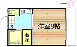 元町29番館[1階]の間取り