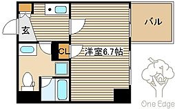 セレニテ中津[8階]の間取り