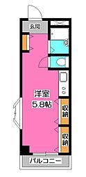 サニーハウス[1階]の間取り