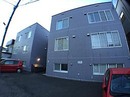 北海道札幌市豊平区平岸三条17丁目の賃貸アパートの外観