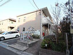 千葉県流山市長崎1丁目の賃貸アパートの外観