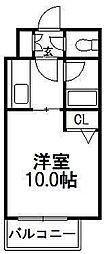 ビッグモウト円山[303号室]の間取り