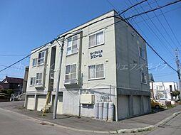 北海道札幌市東区北丘珠五条2丁目の賃貸アパートの外観