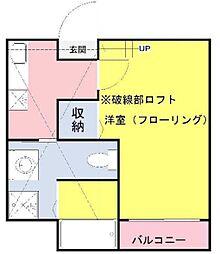 コンパートメントハウス与野本町[2階]の間取り