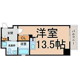 アーデン東別院[3階]の間取り