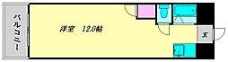 オーシャン御井III[305号室]の間取り