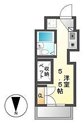 ドーム桜山[4階]の間取り
