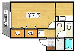 プレミール・ルナ[2階]の間取り