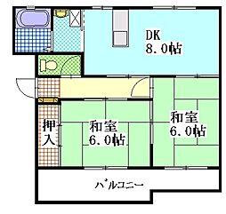 メゾン・プレミール[2階]の間取り