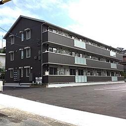 山口県下関市関西町の賃貸アパートの外観
