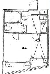 メゾン三青[4階]の間取り