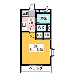 ファースト36[1階]の間取り