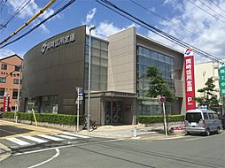 岡崎信用金庫松葉支店(655m)
