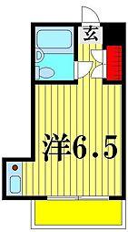 ロイヤルシティー壱番館[1階]の間取り