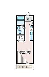 柿の木ハウス[1階]の間取り