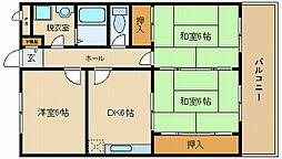 K'sハウス[1階]の間取り