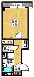 エスパシオコモド[2階]の間取り