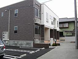 富山県富山市田中町2丁目の賃貸アパートの外観