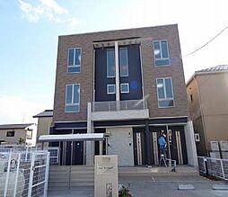 愛知県海部郡蟹江町本町9丁目の賃貸アパートの外観