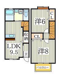 LEVEL[1階]の間取り
